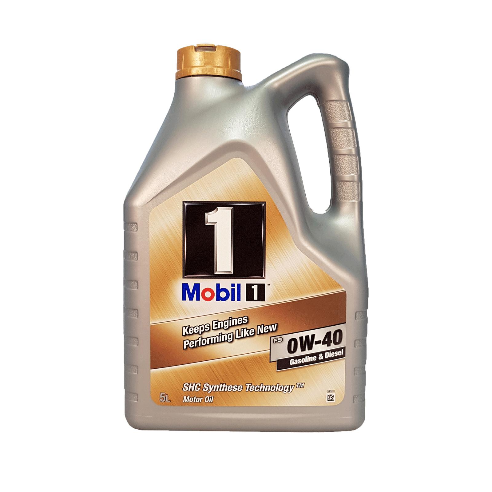 Mobil 1 FS 0W-40 - 5 Liter – Bild 1