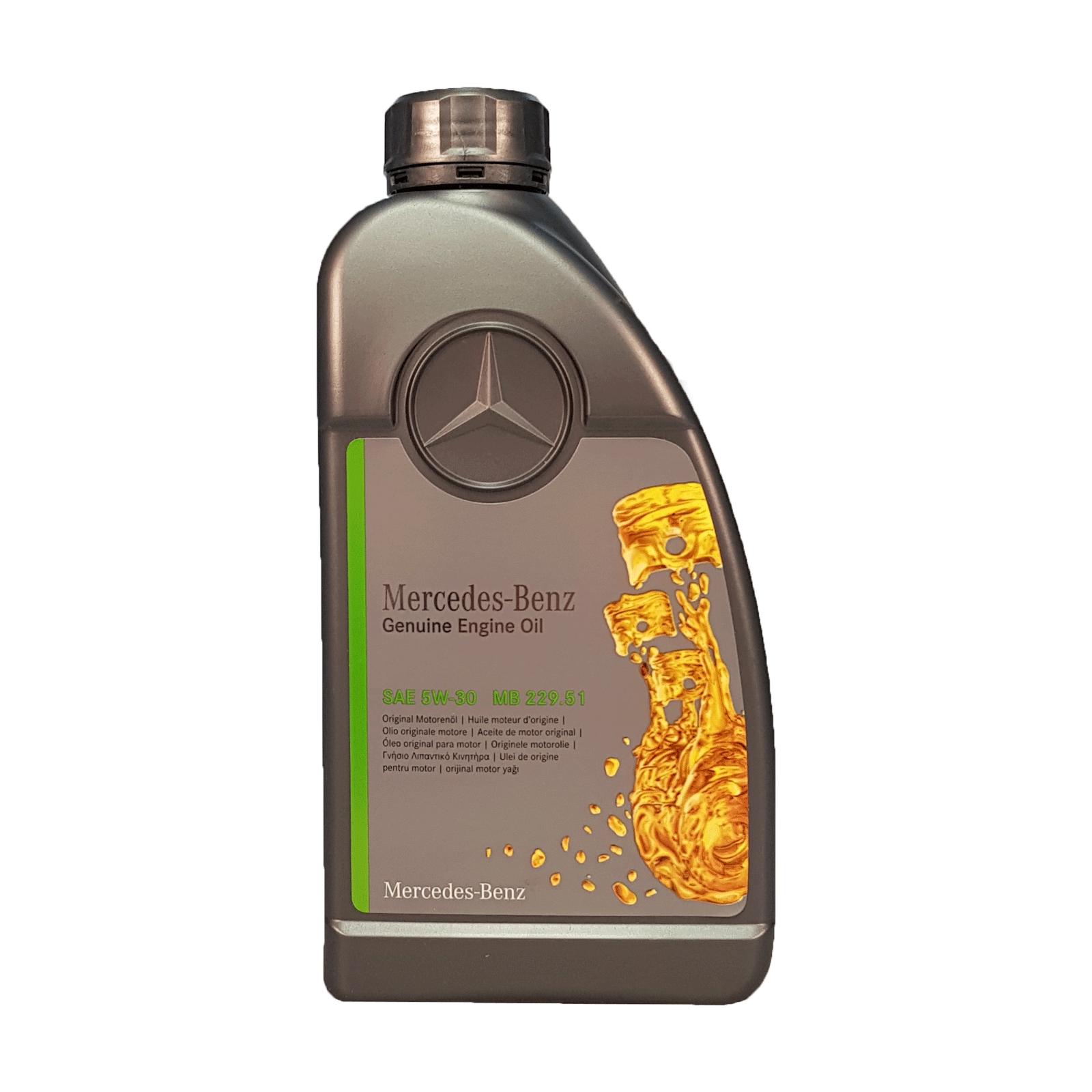 Mercedes 5W-30 229.51 - 1 Liter – Bild 1