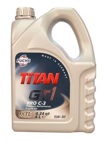 Fuchs Titan GT1 PRO C-3 5W-30 - 4 Liter – Bild 1