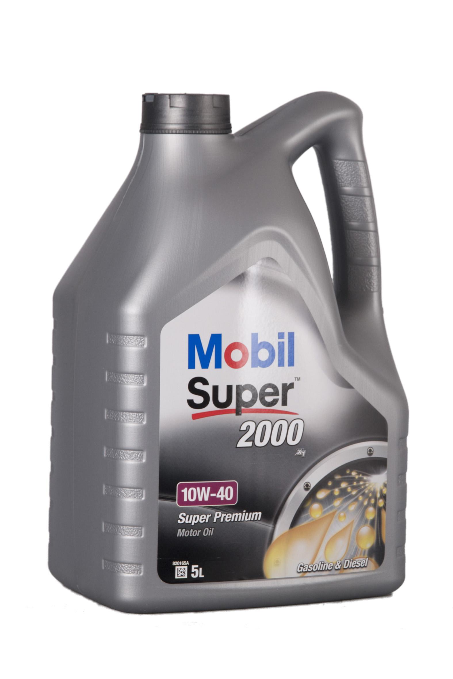 Mobil Super 2000 X1 10W-40 5 Liter – Bild 1