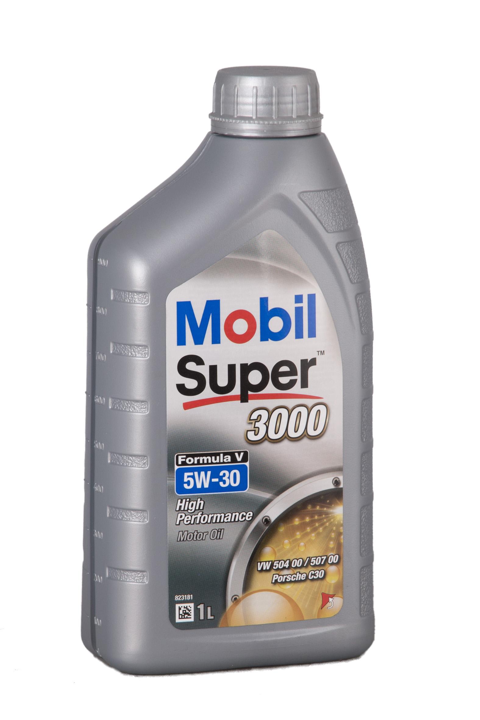 Mobil Super 3000 Formula V 5W-30 - 1 Liter – Bild 1