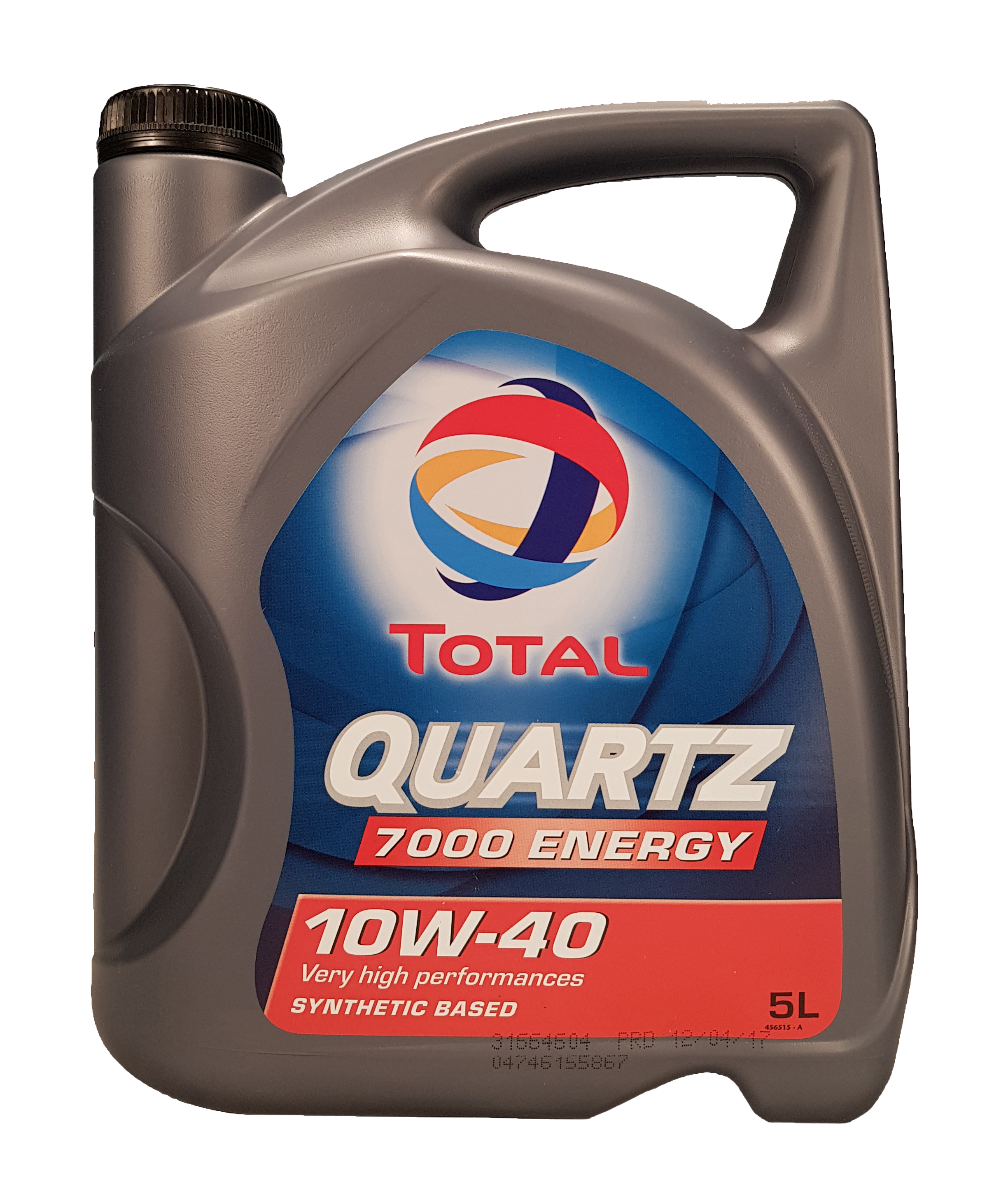 Total Quartz 7000 Energy 10W-40 5 Liter – Bild 1