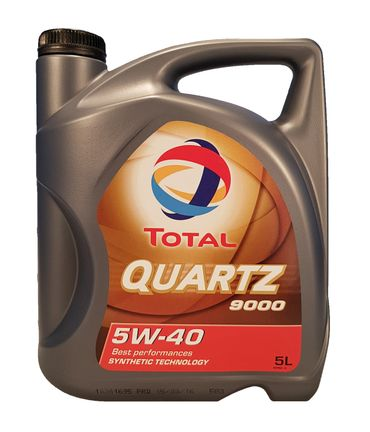 Total Quartz 9000 5W-40 5 Liter – Bild 1