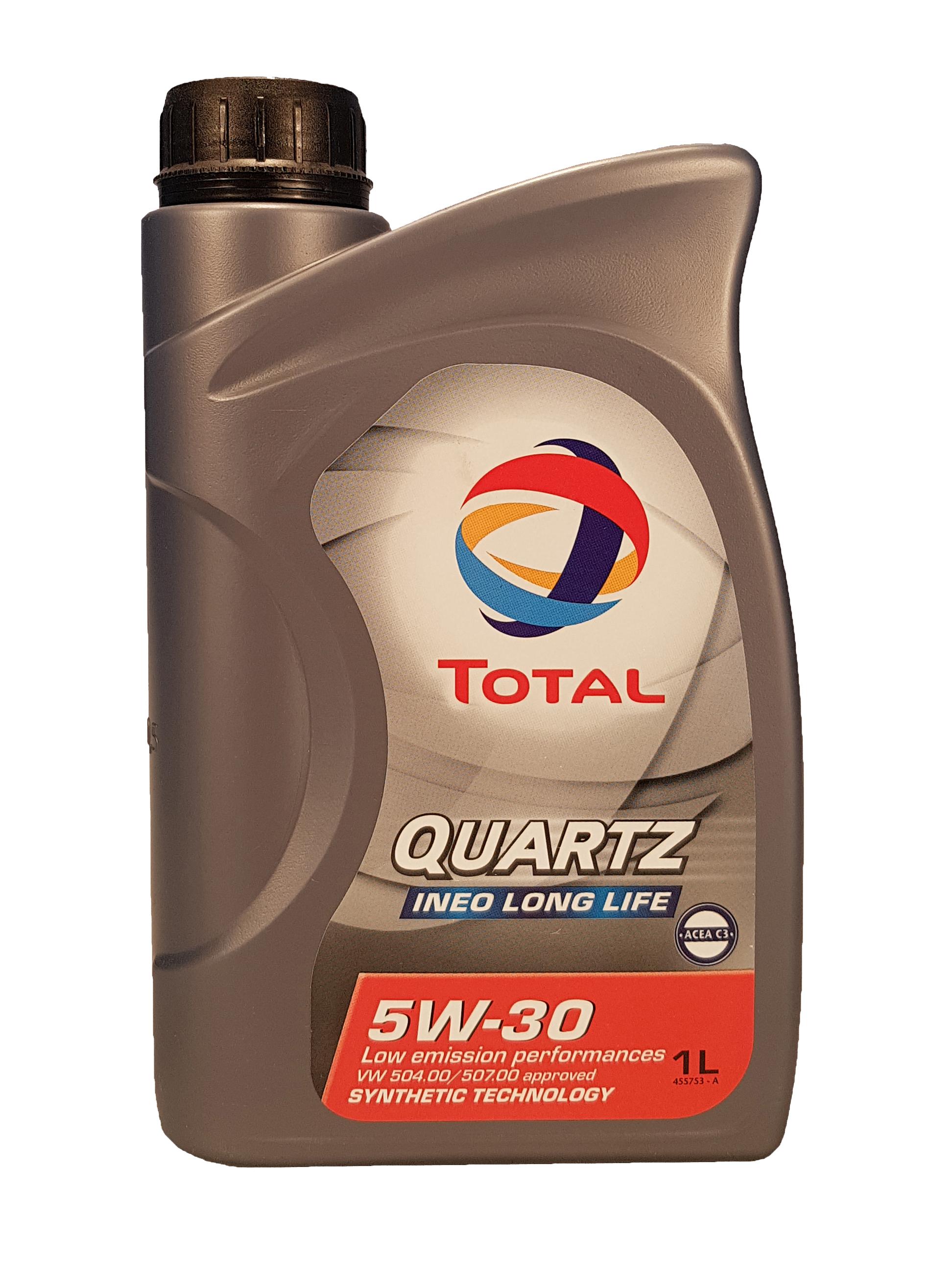 Total Quartz Ineo Longlife 5W-30 1 Liter – Bild 1