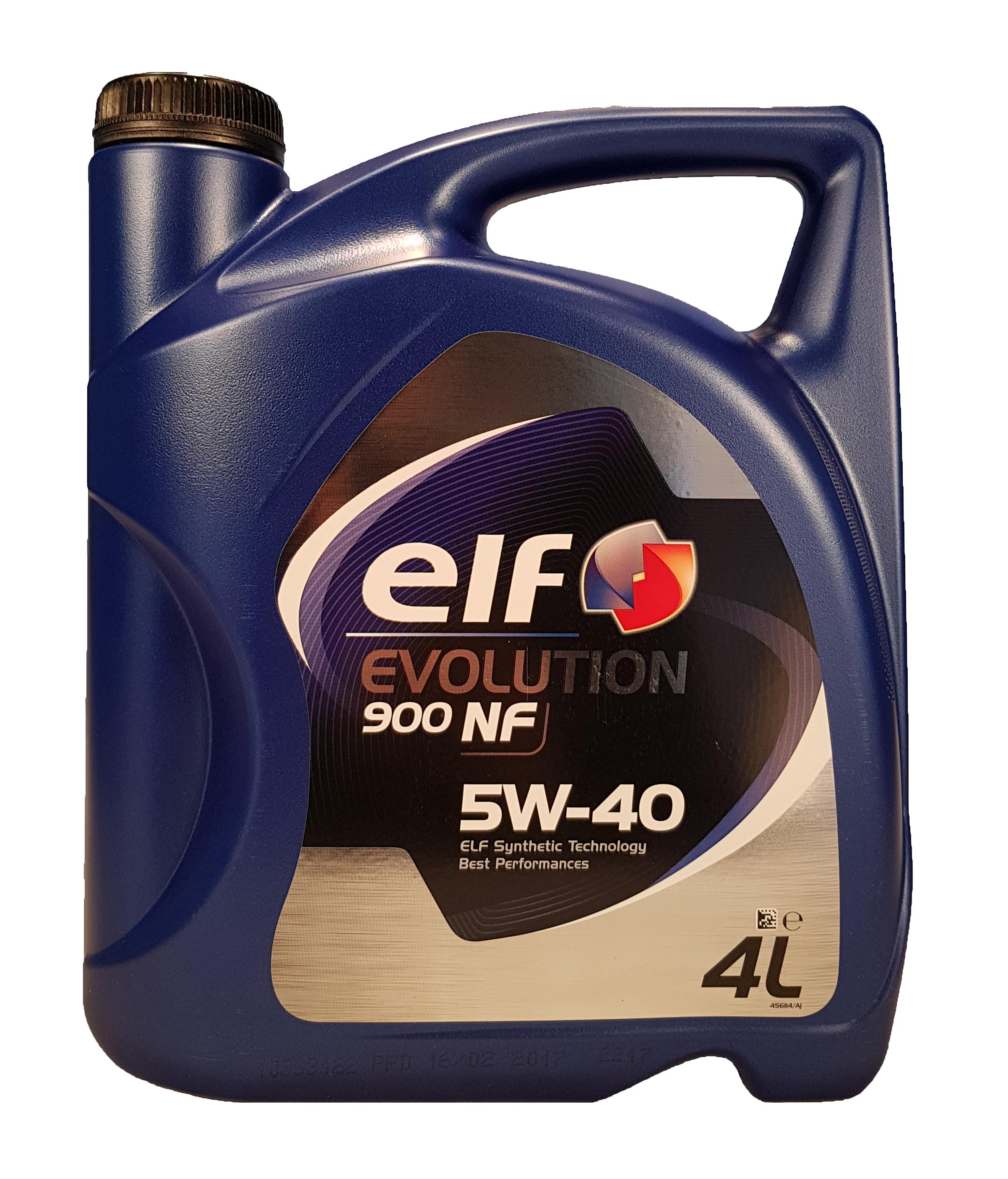 Elf Evolution 900 NF 5W-40 4 Liter – Bild 1
