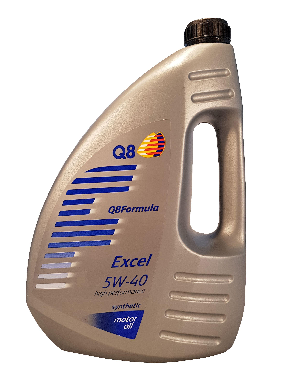 Q8 Formula Excel 5W-40 - 4 Liter – Bild 1