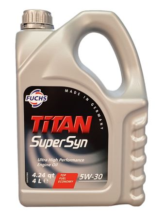 Fuchs Titan Supersyn 5W-30 - 4 Liter