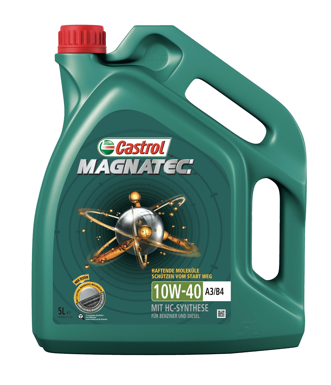 Castrol Magnatec 10W-40 A3/B4 - 5 Liter – Bild 1