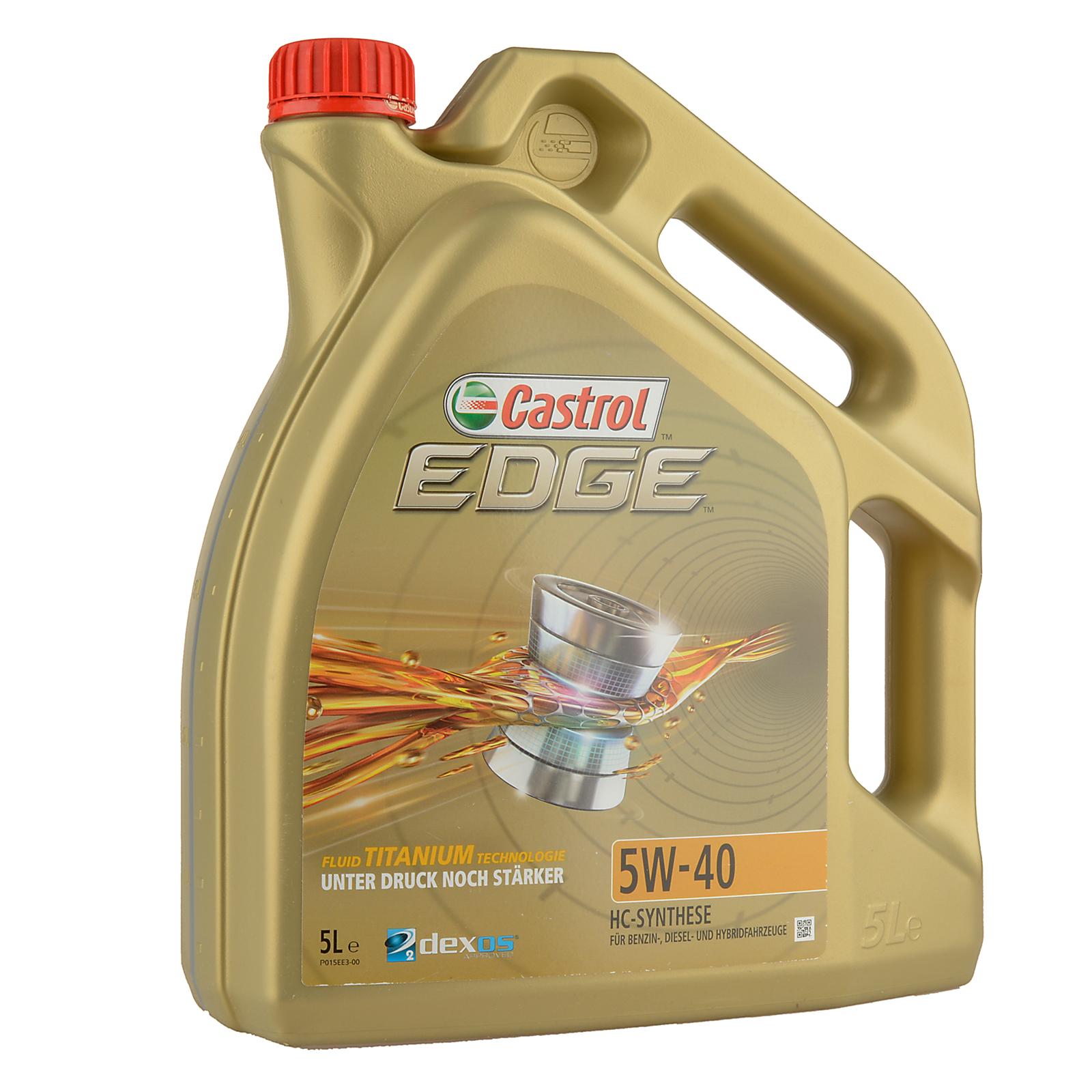 Castrol EDGE Titanium FST 5W-40 - 5 Liter – Bild 1