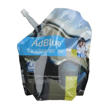 AdBlue® for Cleaner Air - Yara - 3,5 Liter Standbeutel