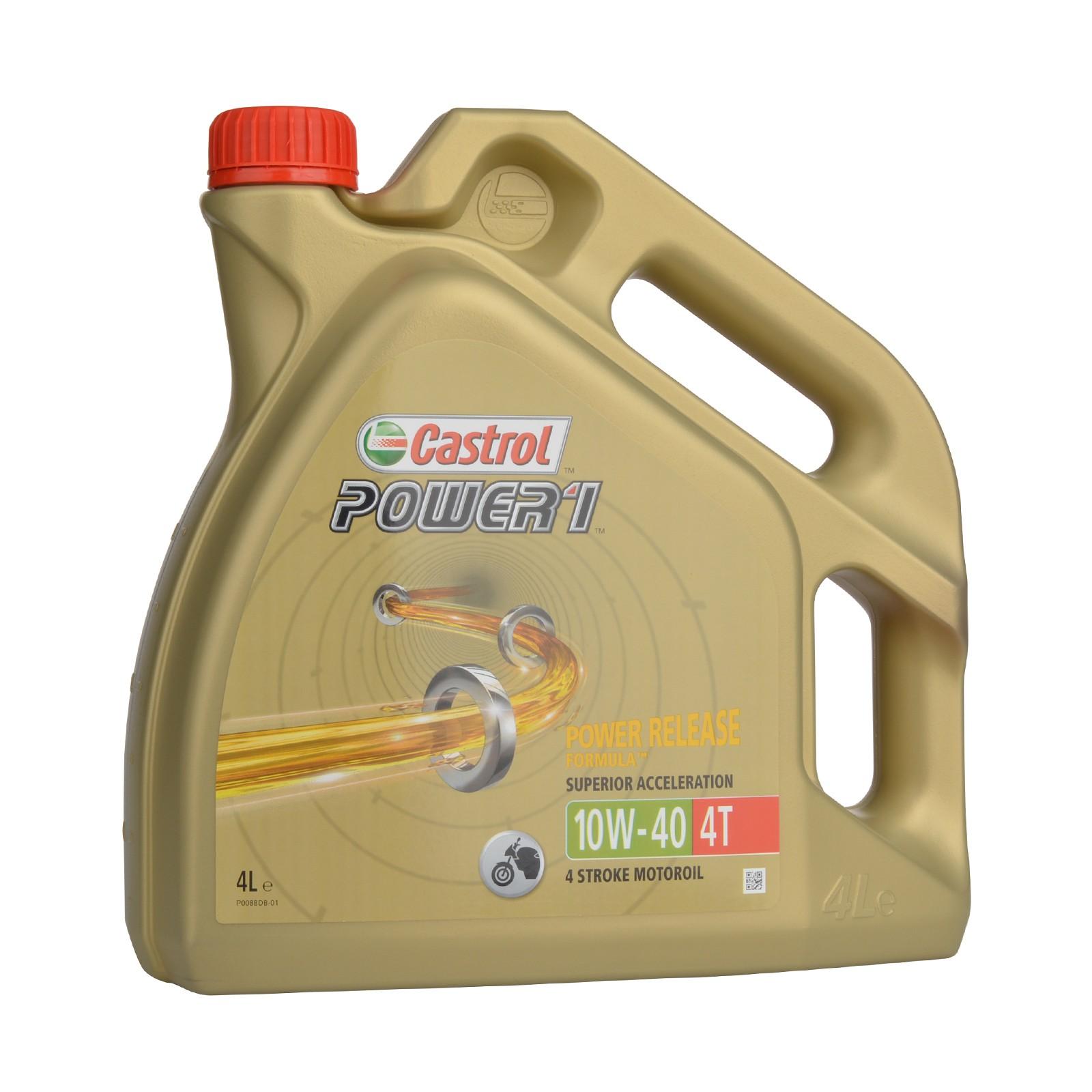 Castrol Power 1 4T 10W-40 - 4 Liter – Bild 1