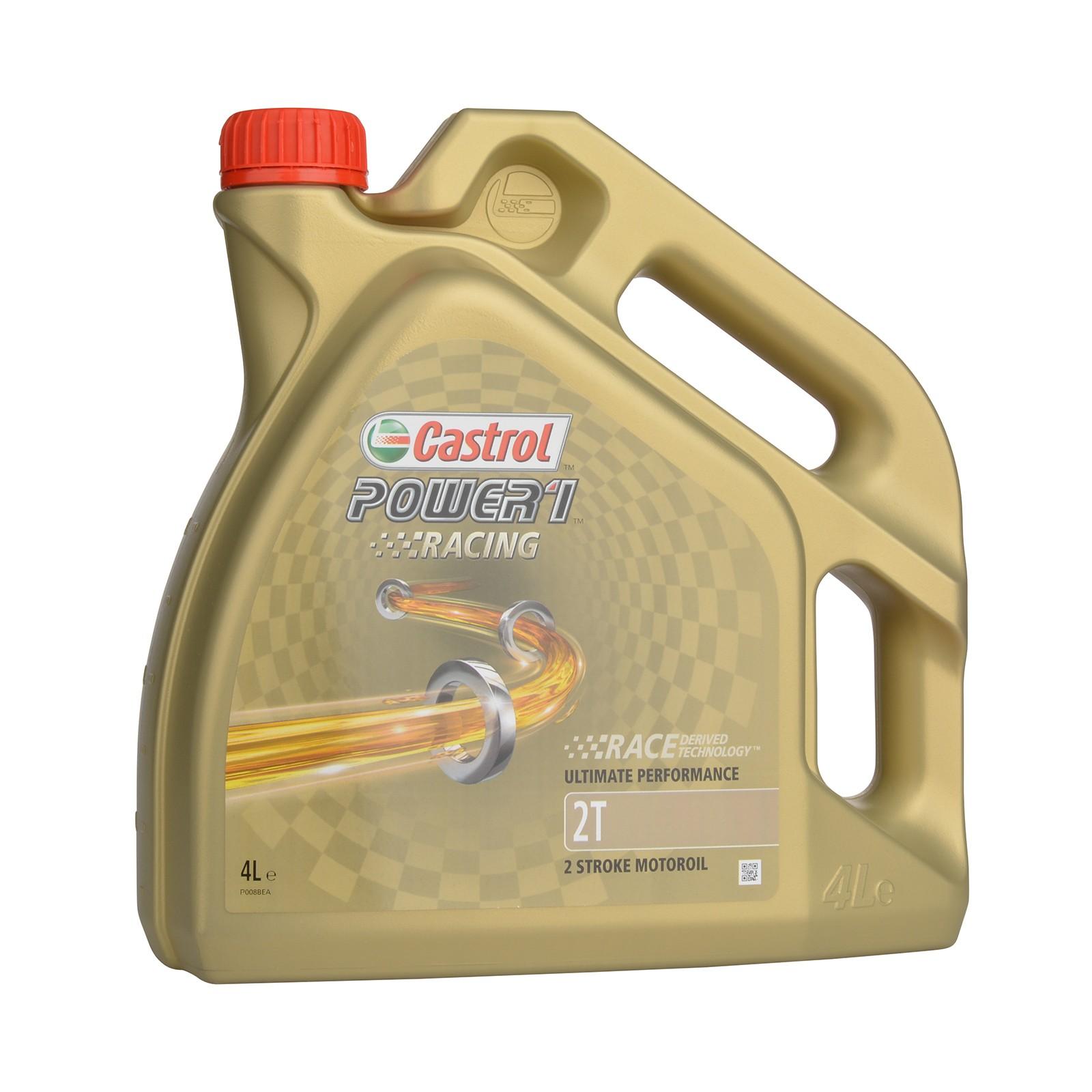 Castrol Power 1 Racing 2T - 4 Liter – Bild 1