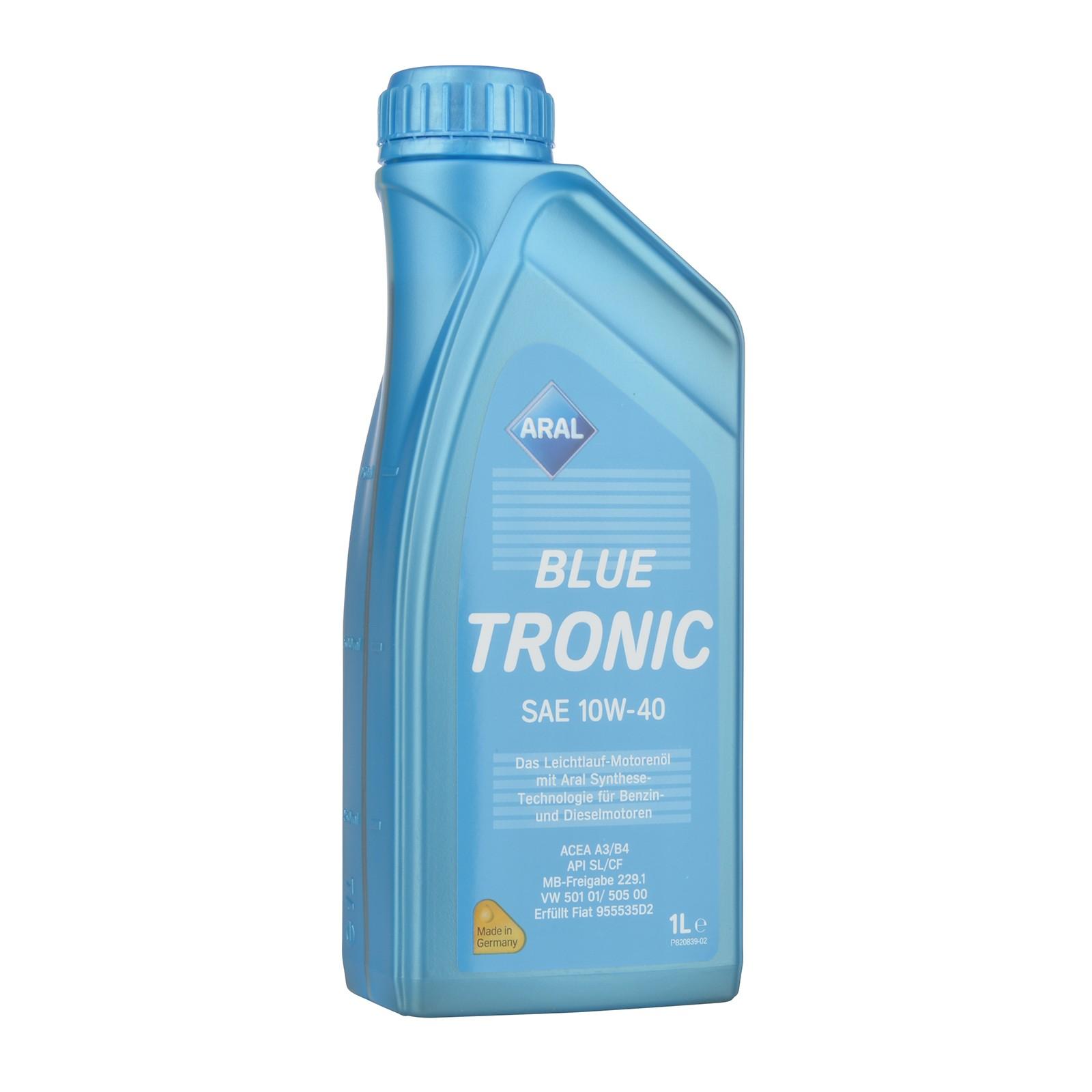 Aral BlueTronic 10W-40 - 1 Liter – Bild 1