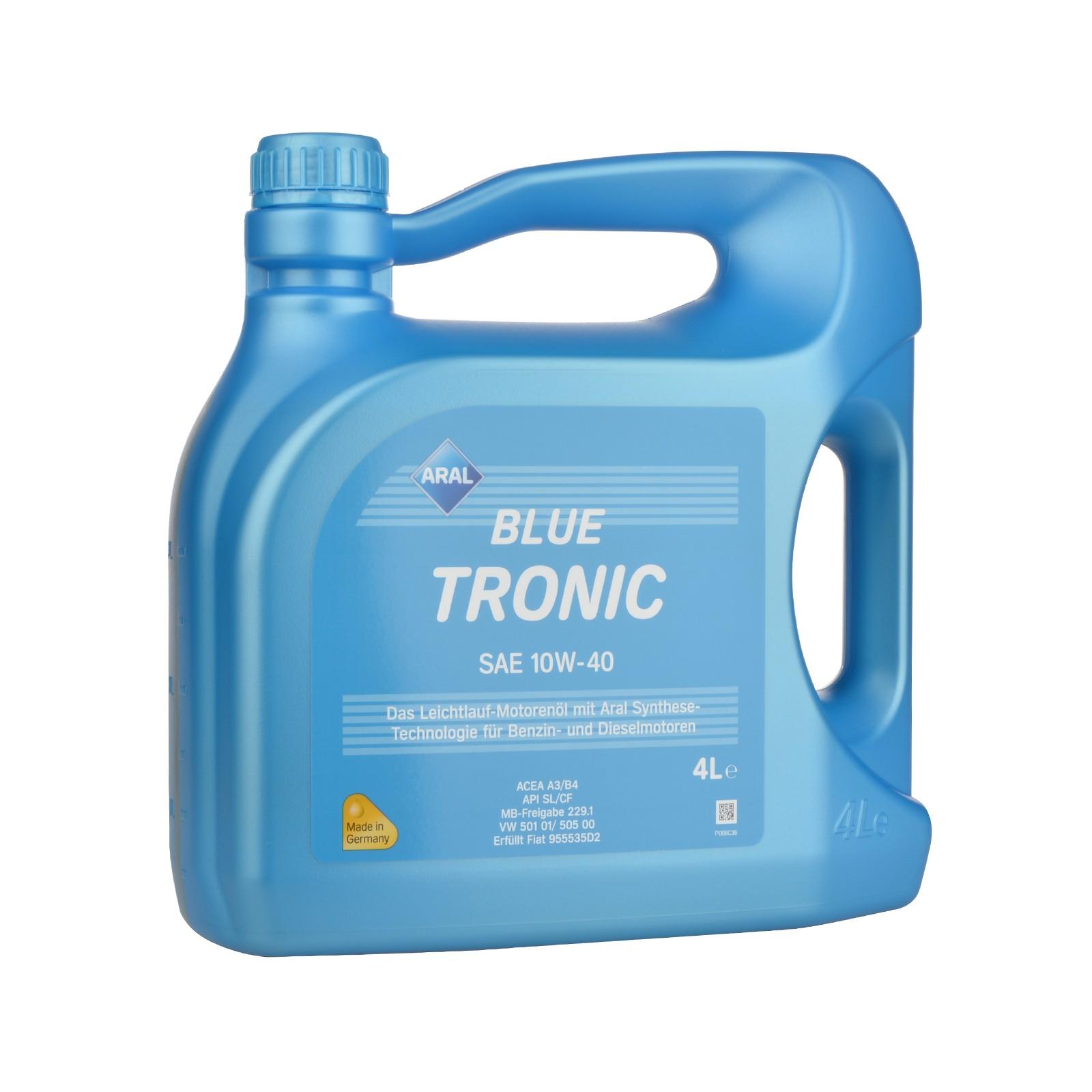 Aral BlueTronic 10W-40 - 4 Liter – Bild 1