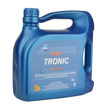 Aral HighTronic 5W-40 - 4 Liter