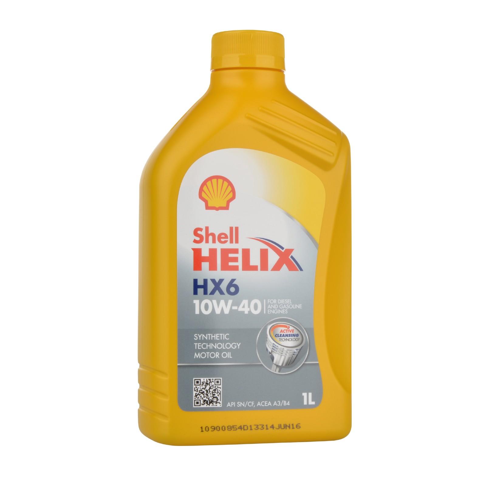 Shell Helix HX6 10W40 - 1 Liter – Bild 1