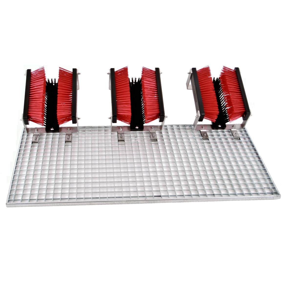 Stollenreiniger mit drei Bürsten - FloorMAX