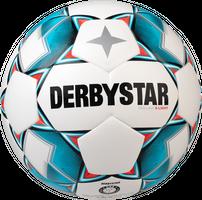 10 x DERBYSTAR Jugendball - BRILLANT S-LIGHT Dual Bonded inkl. Ballsack