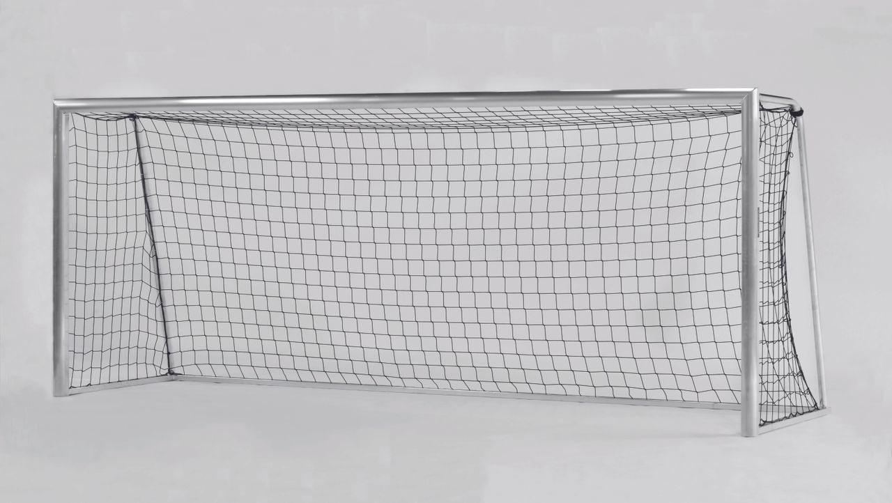 Transportable youth goal - fully welded 5.00 x 2.00 m - transport rollers selectable