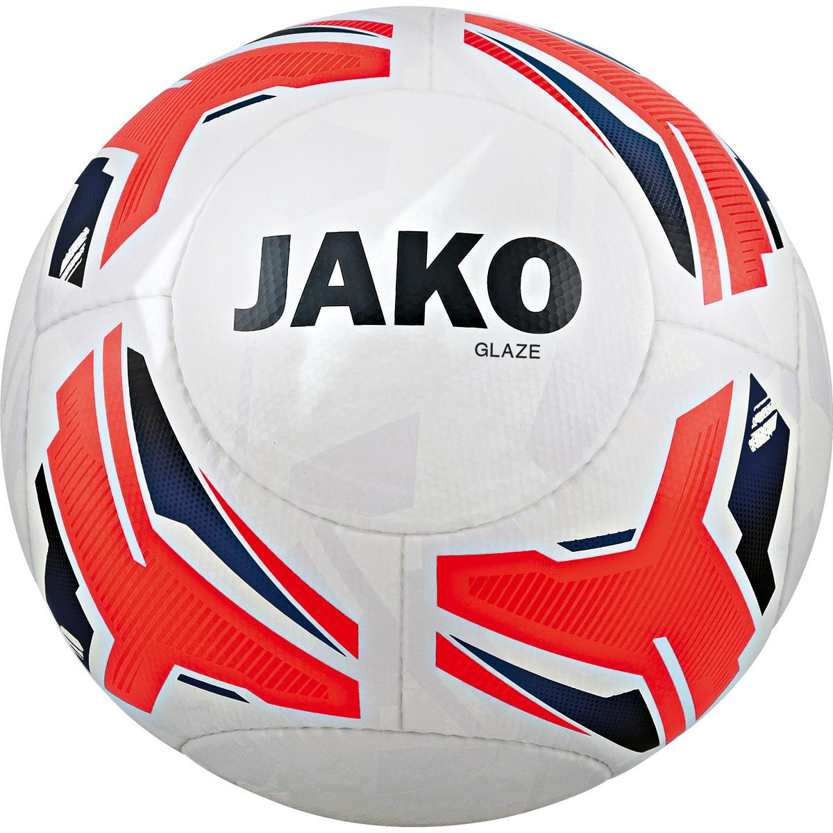 10 x JAKO Trainingsball Glaze inkl. Ballsack