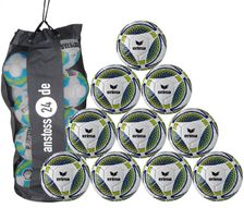 10 x erima training ball Senzor incl. ball bag