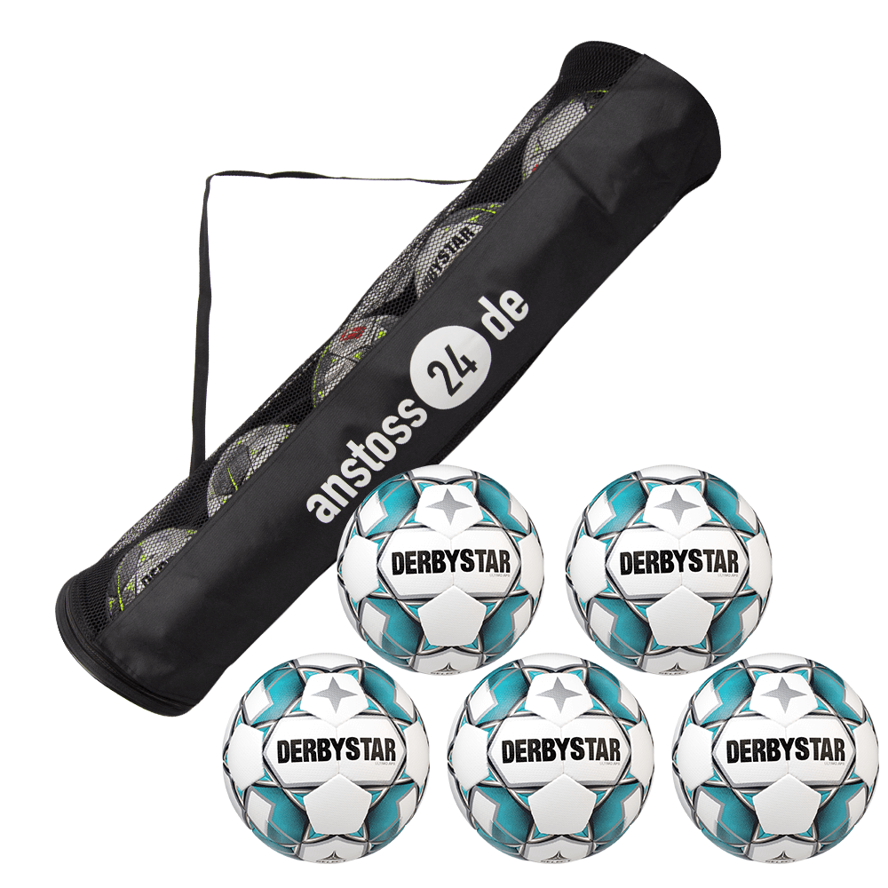 5 x DERBYSTAR play ball - Ultimo APS incl. ball tube