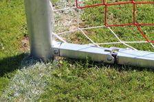 Fußballtor - Bundesliga - 7,32 x 2,44 m - freie Netzaufhängung