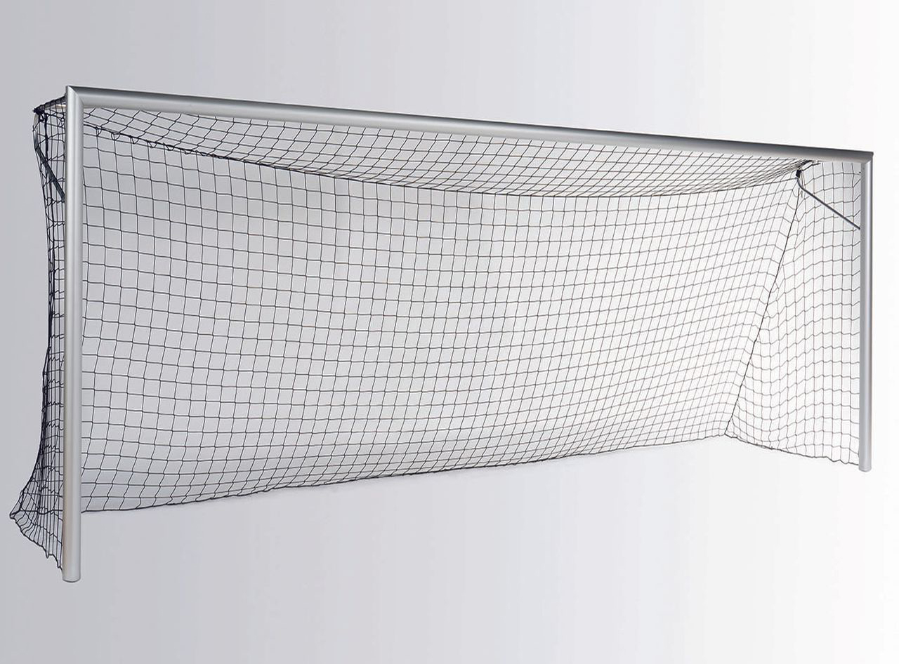 Football goal - Bundesliga - 7.32 x 2.44 m - with net hoop
