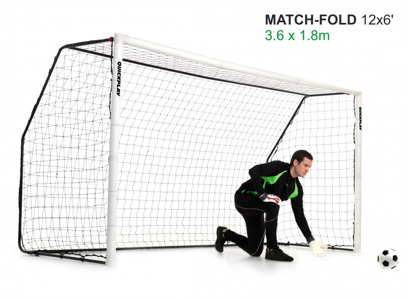 Quick Play - Match Goal 3,68m x 1,83m - Soccer goal