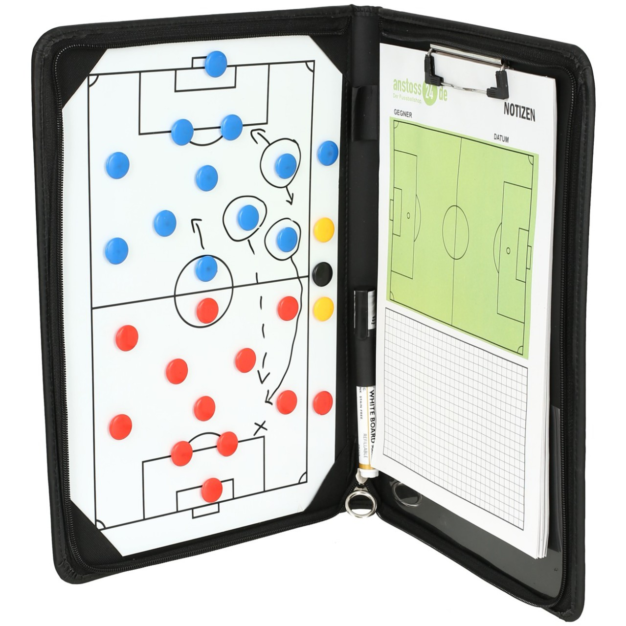 ELF Sports Premium Magnetic Tactics Kit 37x26cm incl. accessories