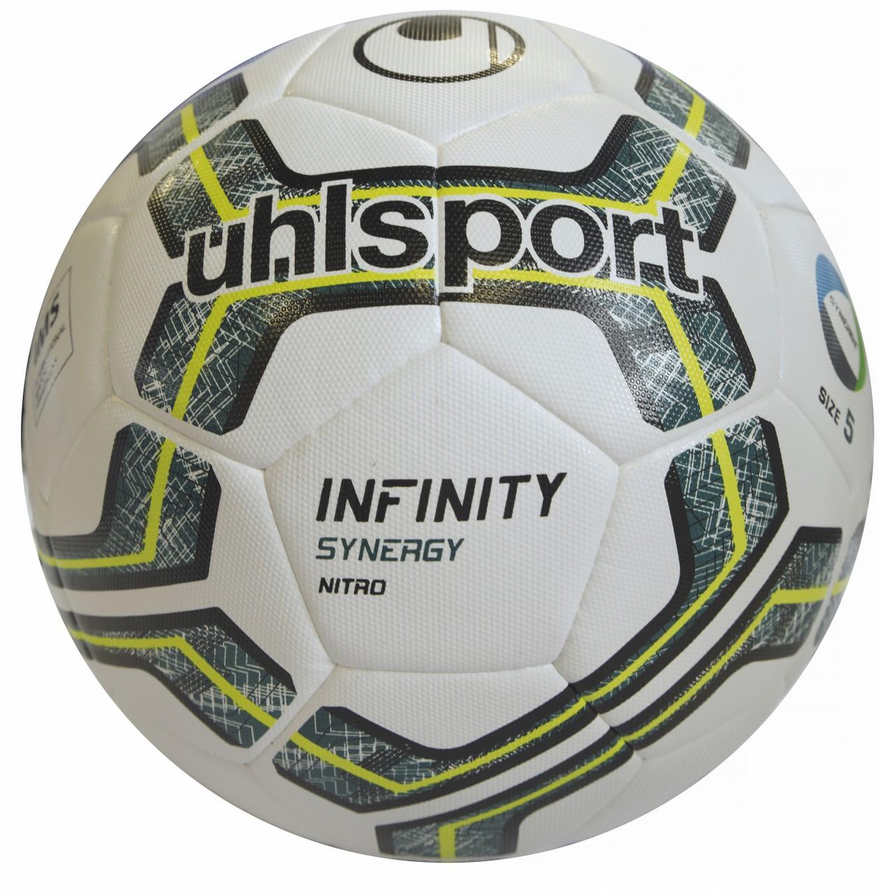 Uhlsport Spiel- und Trainingsball INFINITY SYNERGY NITRO 2.0