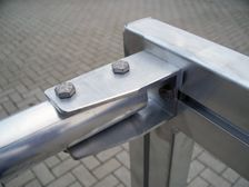Aluminium Minitor - absolutely weatherproof - partially welded