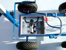 Wet marking trolley 202B - with electric pump