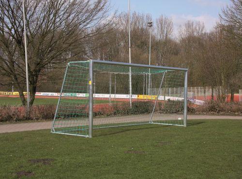 Fußballtor - mobiles Jugendtor - 5,00 x 2,00 m - mit Stahlauslage - inkl. Netz