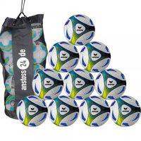10 x erima Hybrid Trainingsball inkl. Ballsack