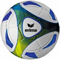 10 x erima Hybrid Trainingsball - Blau inkl. Ballsack