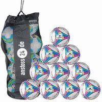 10 x Erima Trainingsball Allround Training inkl. Ballsack 001