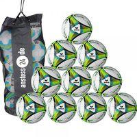 10 x erima Jugendball Allround Lite 350 inkl. Ballsack