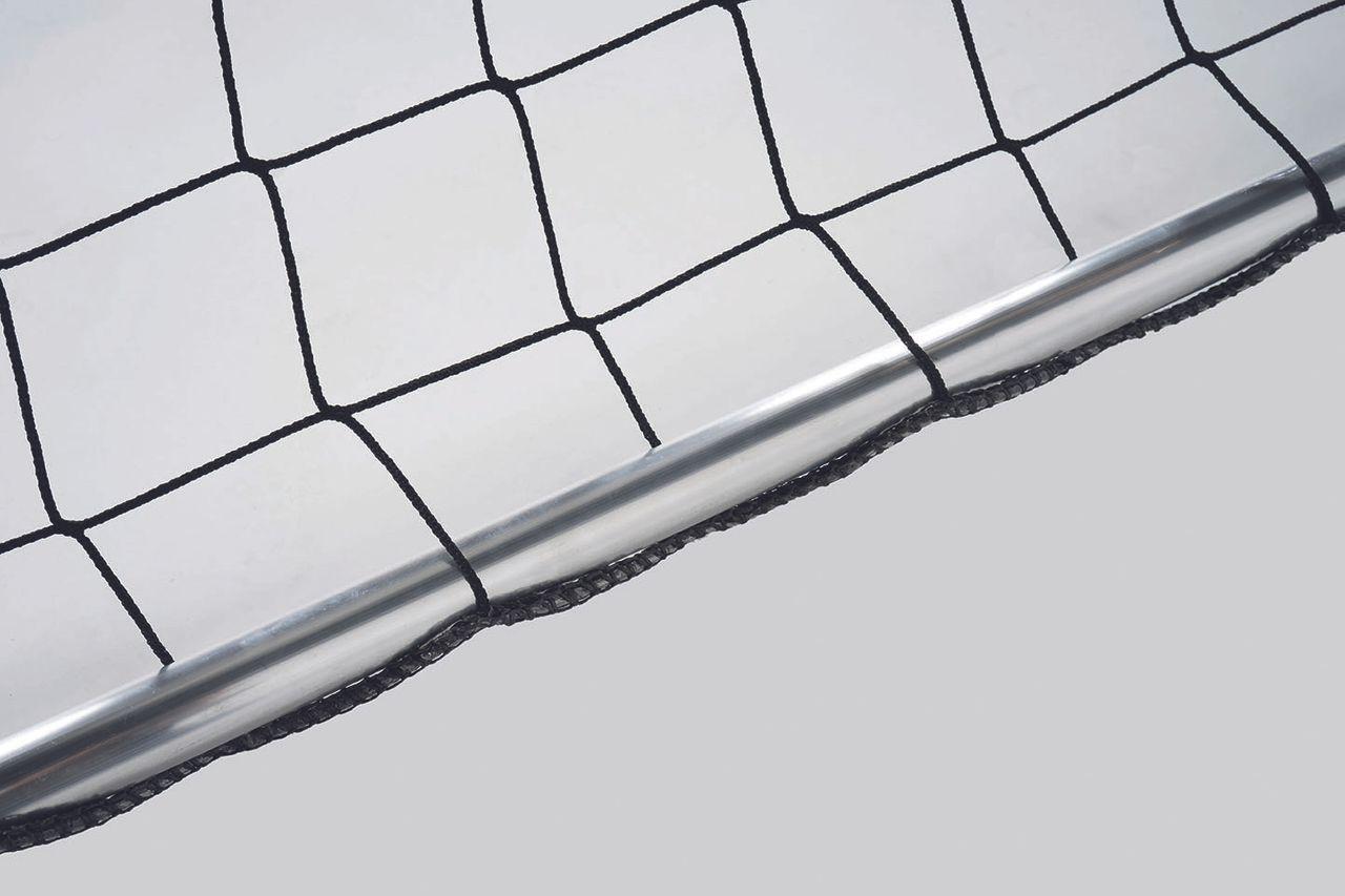 2 Stück Bodenrahmen mit verstellbarer Netztiefe für Großfeldtore - hochklappbar