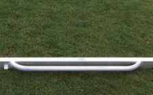 Mobile, fully welded youth goal - 5.00 x 2.00 m - Incl: anti-tipper, wheels, handles and goal net