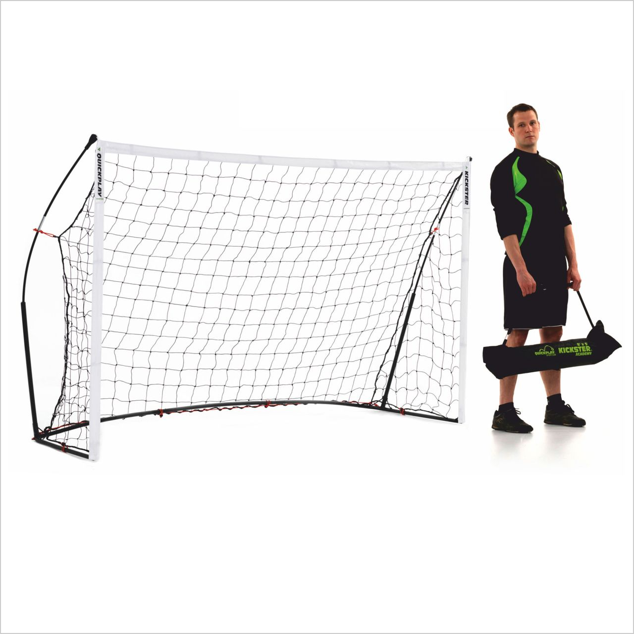 Quick Play - Kickster 2,44m x 1,52m - Football goal
