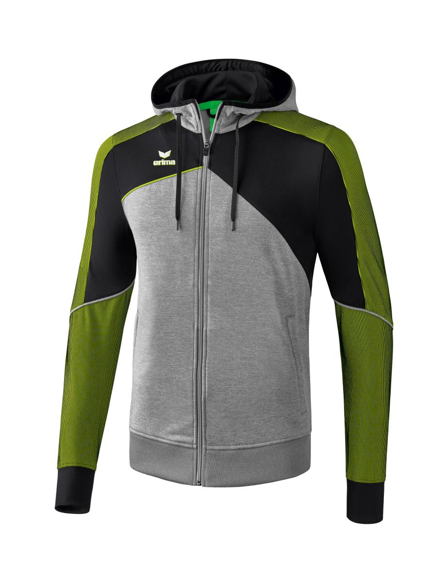 erima Premium One 2.0 Trainingsjacke mit Kapuze