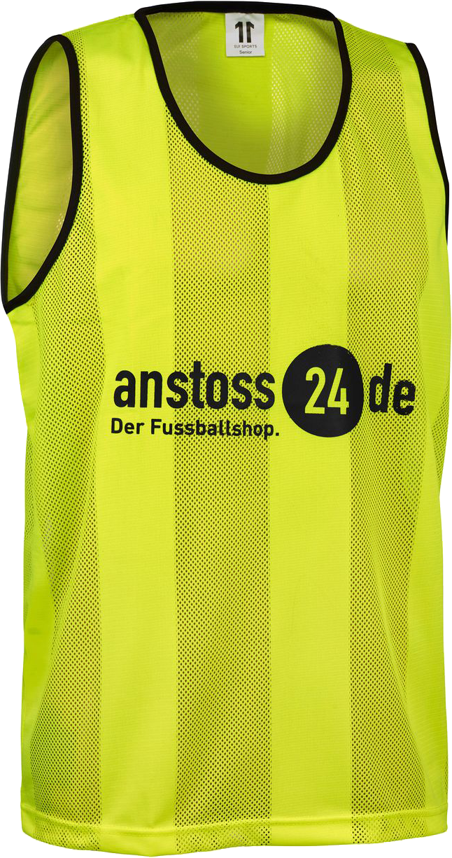 "ELF Sports bib with print ""anstoss24.de"