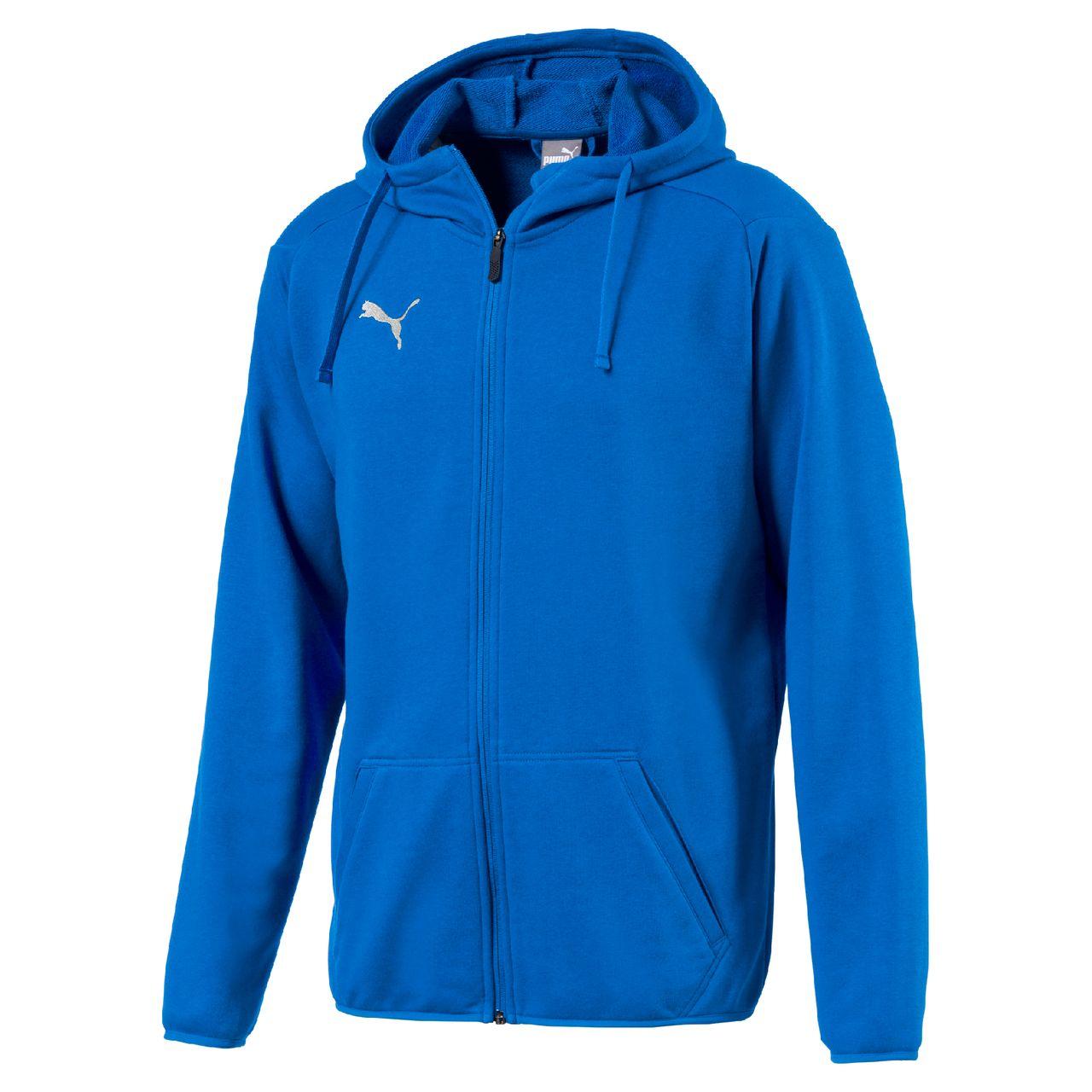 PUMA LIGA Casual Hoody Jacket Teambekleidung   Spielerbekleidung 0a768cc472