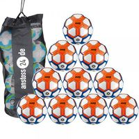 10 x JAKO Trainingsball Striker inkl. Ballsack