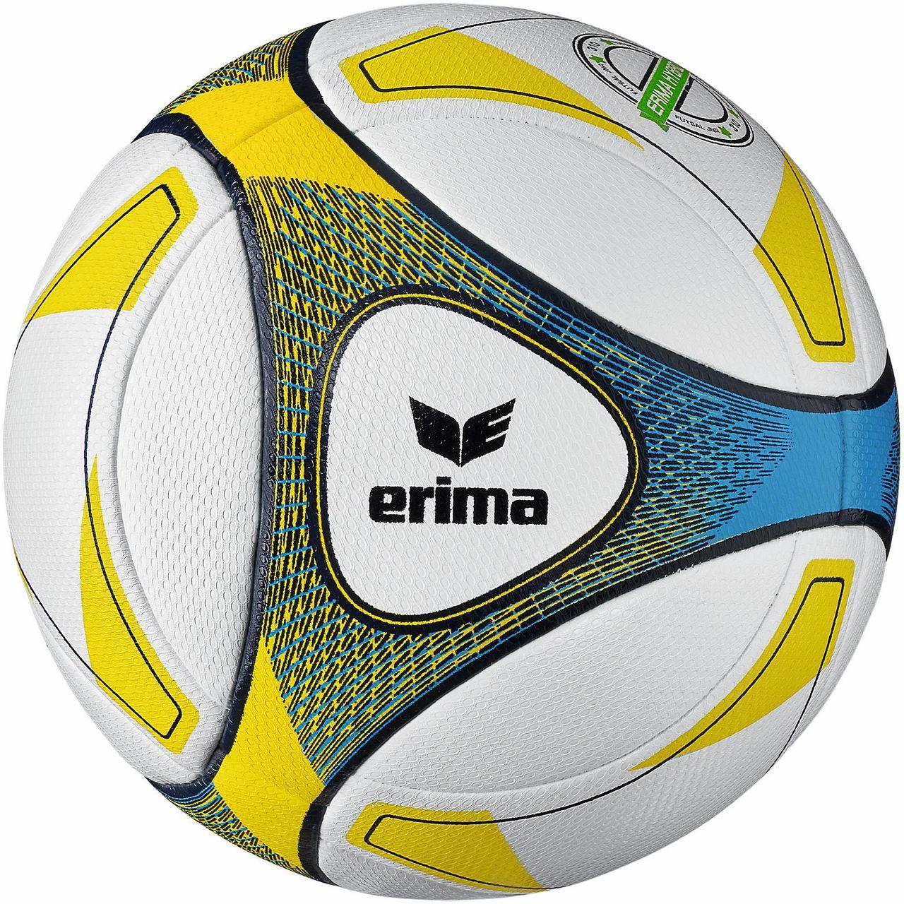 10 x erima Trainingsball Futsal - Hybrid JNR 310 inkl. Ballsack