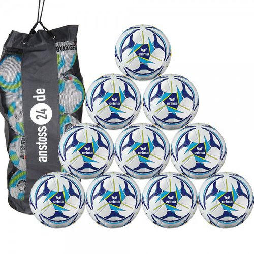 10 x erima training ball Senzor Allround Training incl. ball bag
