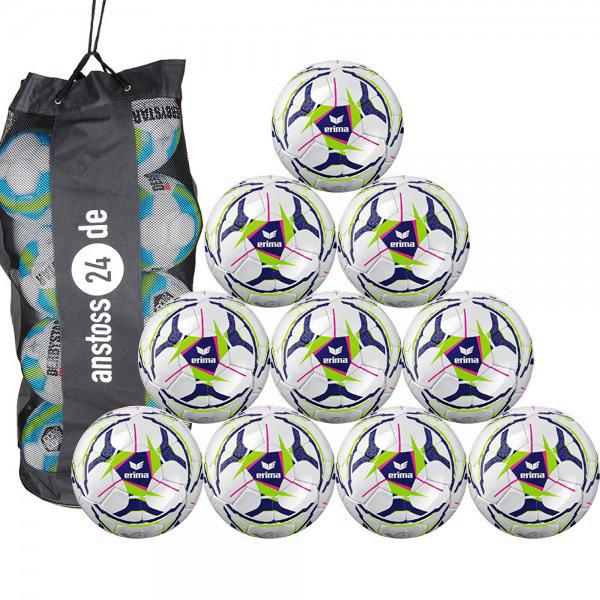10 x erima Jugendball Senzor Allround Lite 350 inkl. Ballsack