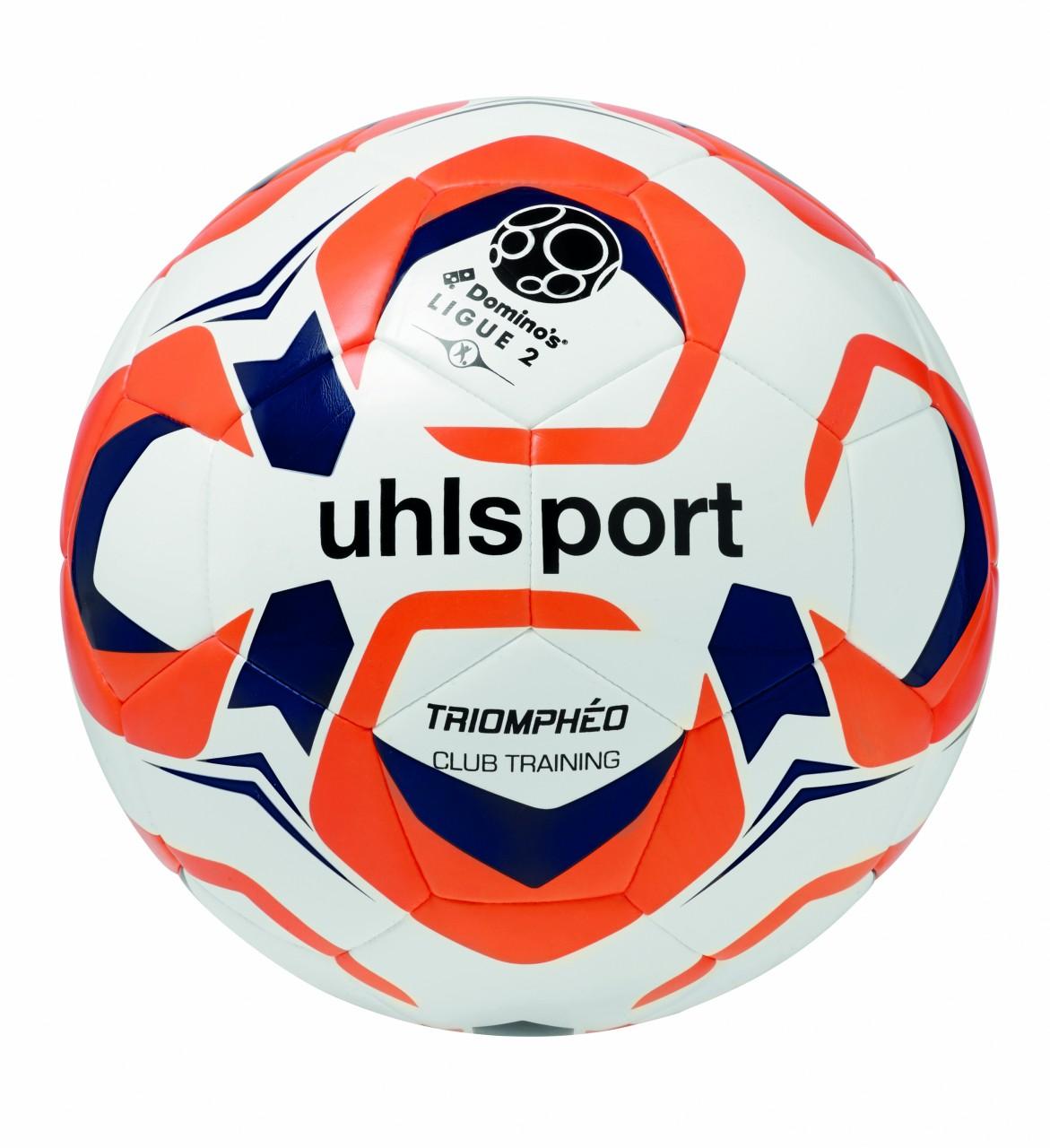 10 x Uhlsport Trainingsball TRIOMPHÉO CLUB TRAINING inkl. Ballsack