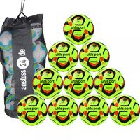 10 x Uhlsport Trainingsball TRIOMPHÉO CLUB TRAINING inkl. Ballsack